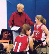 Coaching Athletes with a Disability Part three Communication and interaction The need for volunteers may increase when athletes with a disability are involved.