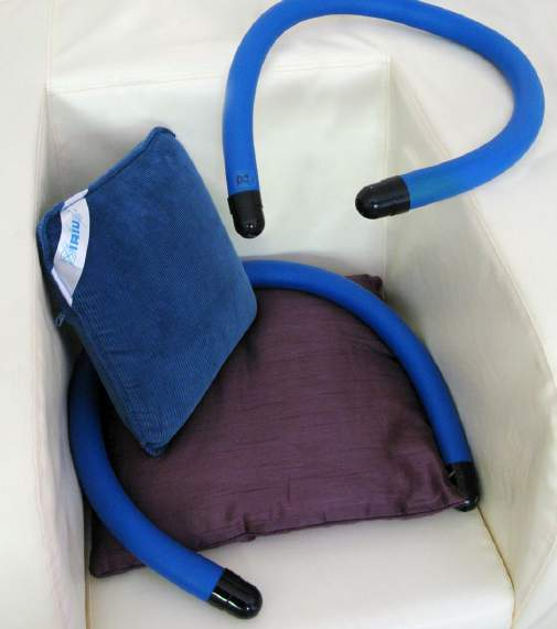 Small vibrating items: cushions or tubes Stimulate interaction and learning. Can provide fun experience and social interaction when used in group or 1:1 session.