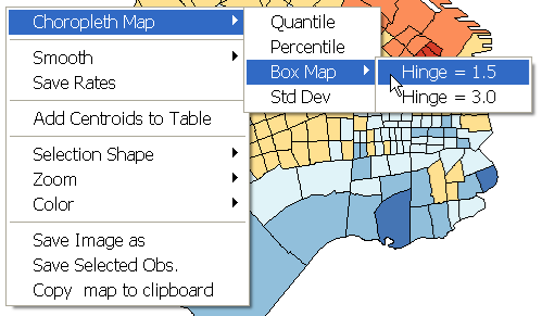Figure 11.5: Box map function. 11.3 Box Map Figure 11.6: Box map for APR with 1.5 hinge.