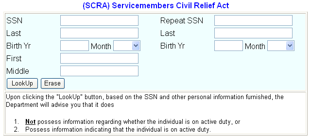 The Servicemembers Civil Relief Act However, in emergency situations (such as an imminent foreclosure, eviction, or repossession), you can contact Civil Rights Division s Housing and Civil