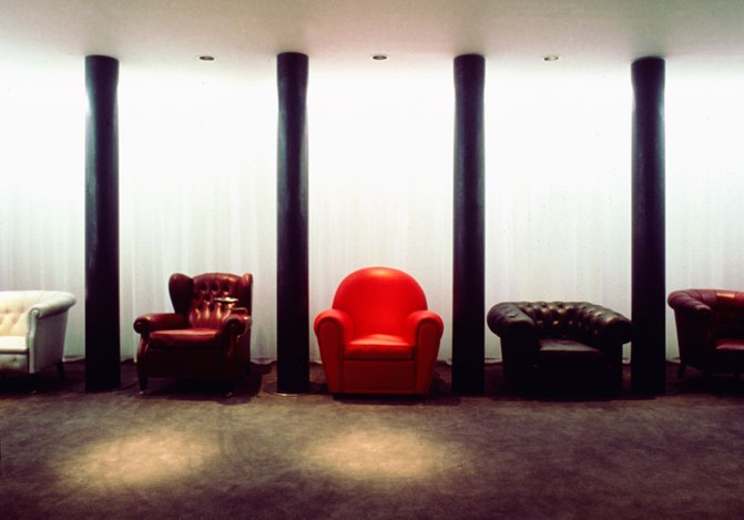 Poltrona Frau showrooms New York, 1985/1987 During our long