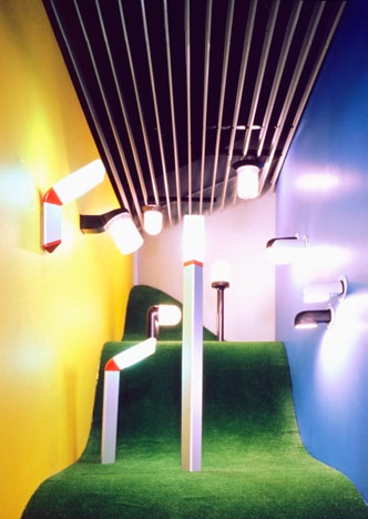 Artemide showroom, Miami, 1985 Following the Dallas