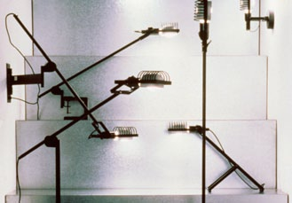 Again, the basic notion was to present every line of light fixtures in a
