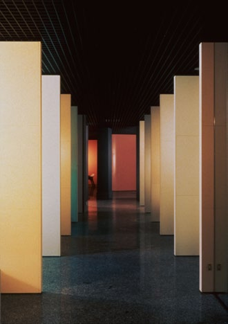 Artemide showroom, Milan, Italy, 1987 Once again, the main showroom in Milano reiterates