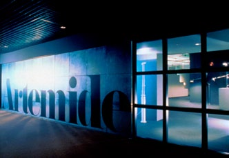 Artemide showroom, Chicago, 1988 We