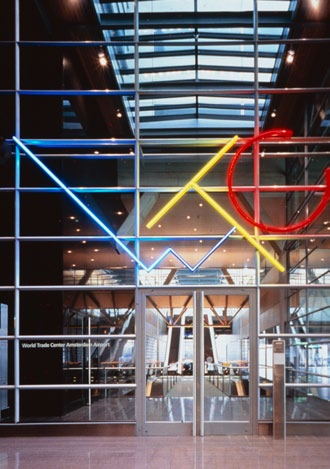 The World Trade Center at Schiphol Airport, Amsterdam, Netherlands, 1996 We were asked to design all the Center s public space interiors