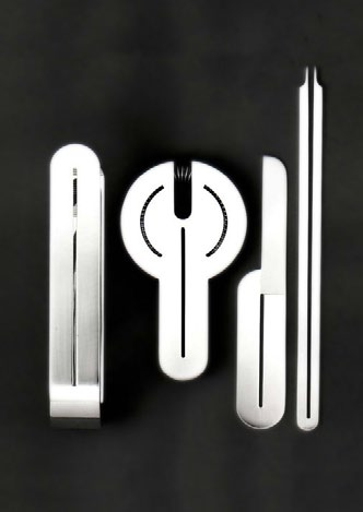 CIGA Hotels silverware, 1979 When we designed the identity program for the CIGA Hotels, the most luxurious chain of hotels in