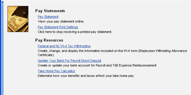 My Pay Pay Statement 1. Click on the Statement link. 2. In the resulting window, review the Payroll Statement. 3.