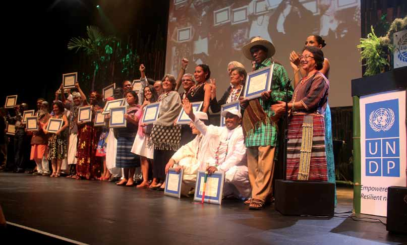 Recognising and supporting territories and areas conserved by indigenous and local communities: Global overview and national case studies Awardees of the Equator Initiative, 2012, in Rio de Janeiro