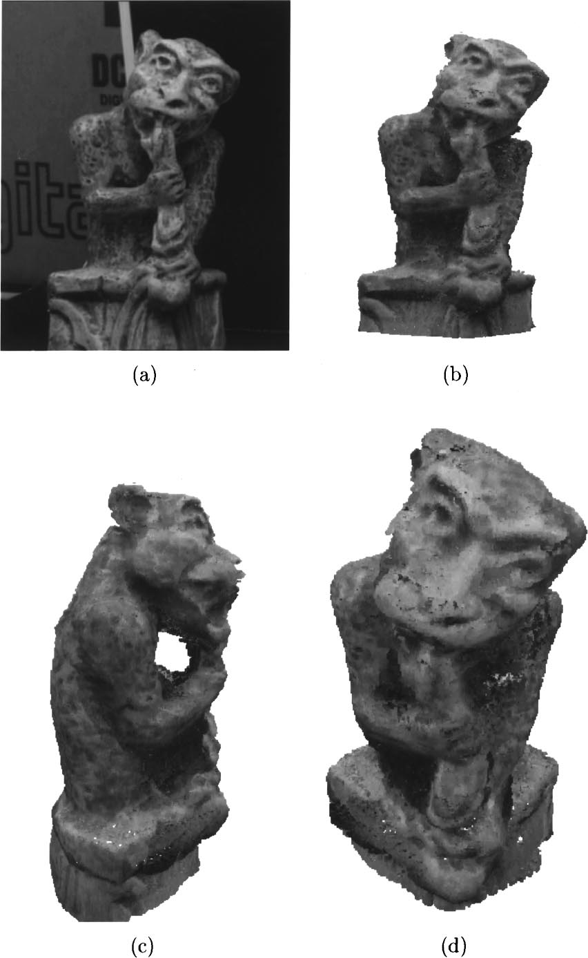 A Theory of Shape by Space Carving 211 Figure 8. Reconstruction of a gargoyle sculpture.