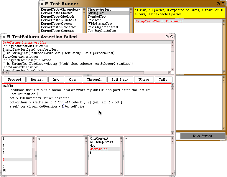 The Debugger 143 Figure 6.