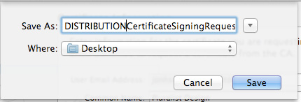 Generate a Distribution Certificate Now that you ve created the certificate signing request file, you need to submit it to the ios Provisioning Portal to