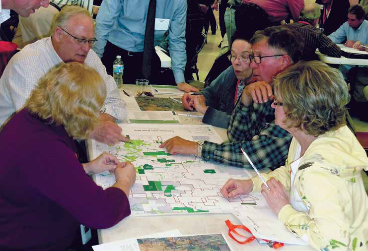 STEP THREE: VISIONING / CREATING THE REGULATIONS 27 Evolve The community wants to see desired physical change within the planning area over time, but is willing to allow change to occur more