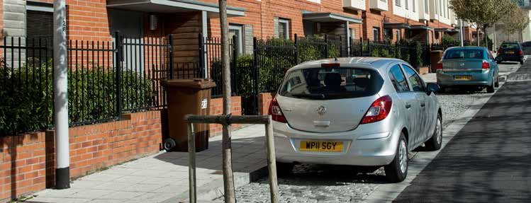1: The Code for Sustainable Homes Checklist (Hea 4 Lifetime Homes) requires that the distance from the car parking space to the home should be kept to a minimum and should be level or gently sloping.