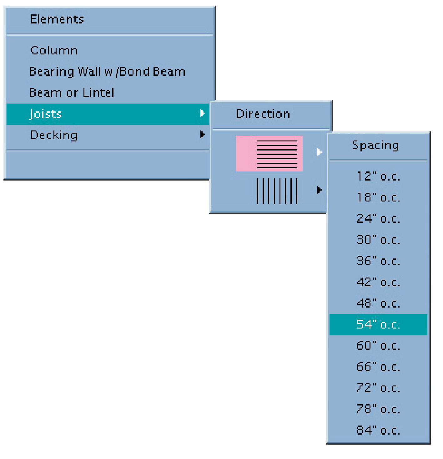 ARE DIVISIONS & REFERENCE MATERIALS: GRAPHIC VIGNETTE SECTIONS Menus and Windows DRAW Clicking on this icon brings up the menu below.