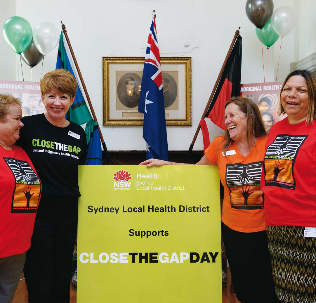 1 Progress in the national effort to close the gap health outcomes National Close the Gap Day celebrations at Royal