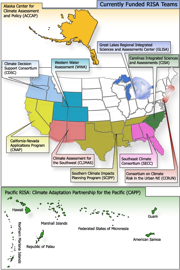 Department of Commerce (DOC) agreements, NOAA s Africa Desk, and Pacific Climate Information System PaCIS).