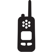 The Differences One fundamental difference between cellphones and two-way radios is who uses two-way radio.