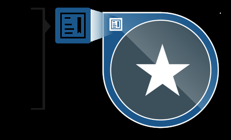 Open Badge metadata includes: Figure 2. What s in an Open Badge The defined outcomes required to earn the badge and the evidence earners provided to demonstrate their competence.