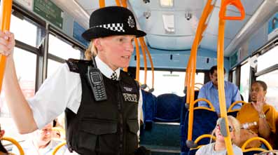 SPOTLIGHT Policing reducing crime on London s public transport SPOTLIGHT Railway arches, Southwark London s transport system is a safe, low-crime environment.
