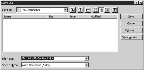 The core of Windows 95 is the hierarchical file system. All of Jane's documents were stored in little folders, which were stored in other little folders.