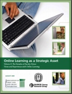 2011 Class Differences: Online Education in the United States, 2010 Learning on Demand: Online Education in the United States, 2009 Staying the Course: Online Education in the United States, 2008