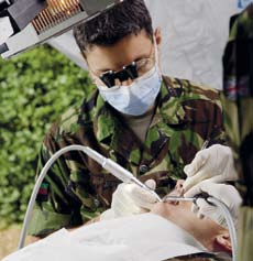 In the UK, the Corps works closely with the NHS, ensuring that its personnel keep up with the latest medical practice and train for further postgraduate medical qualifications.