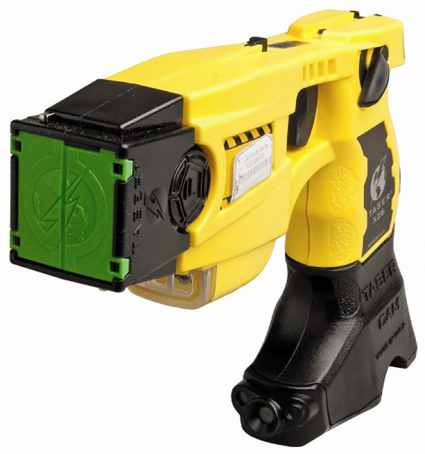 How are Taser weapons used by the NSW Police Force?