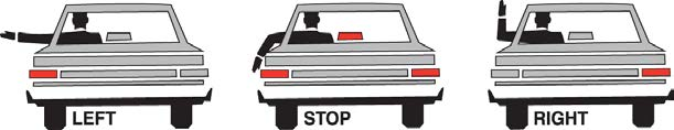 manner as to require the passengers to cross more than two lanes of traffic. The following are situations when you do not have to stop: 1.