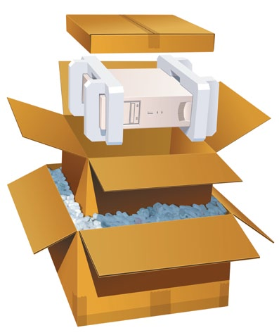 Recommended Packaging Options This brochure will help you pack and prepare your computer and peripheral shipments. Follow the instructions for the packaging method of your choice.