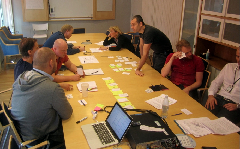 20. How we do sprint planning meetings Our sprint planning meetings aren't really Scrum- by- the- book sprint planning meetings. There are more similarities than differences though.