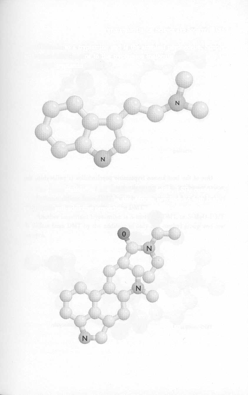 PSYCHEDELIC DRUGS: SCIENCE AND SOCIETY 35 DMT is also a tryptamine and is the simplest psychedelic.