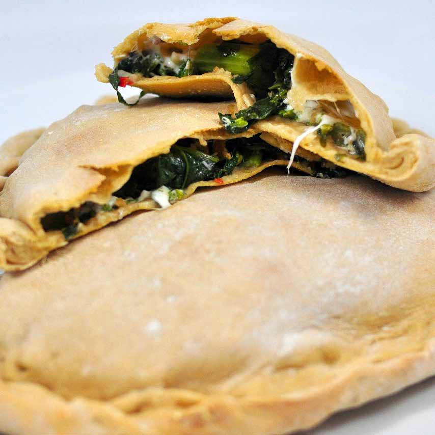 Broccoli Rabe and Mozzarella Calzones m akes four calzones $ 6 t o t a l $1.
