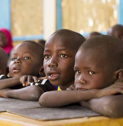 UNICEF/PFPG2014P-0877/Lynch Large numbers of children are still out of school, and access to school remains inequitable, with entire groups of vulnerable and marginalized children excluded from