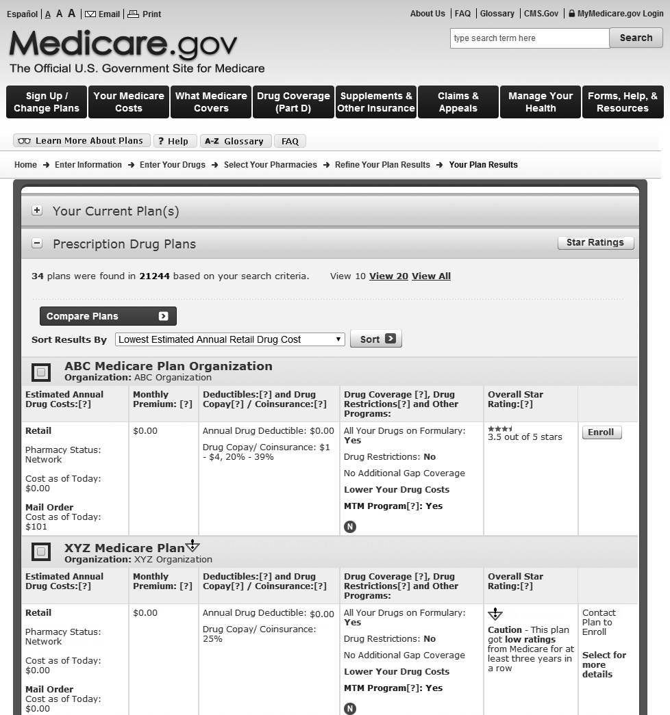 18 Section 1 Learn How Medicare Works What if I need help deciding how to get my Medicare? 1. Visit the Medicare Plan Finder at Medicare.gov/find-a-plan.