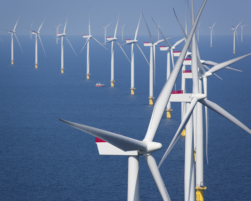 The European offshore wind industry - key trends and statistics