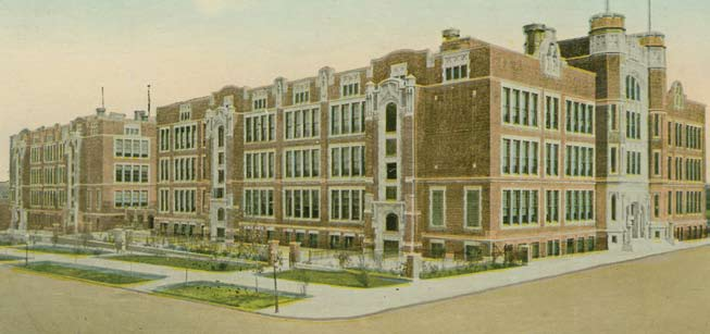 A century ago, public schools were seen as tangible elements of civic pride, built with the finest materials and highest level of craftsmanship the community could afford.