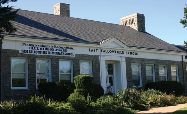 Photo: Tom Hylton The Coatesville School District s East Fallowfield School enrolls about 300 children in grades K-5. The 1939 school was named a National Blue Ribbon School of Excellence in 2002.