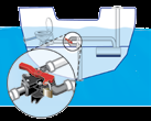 It s the Law! 19 Boat Battery It is unlawful to operate a motorized vessel equipped with a storage battery unless the battery is secured against shifting.