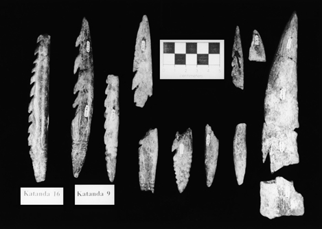 THE REVOLUTION THAT WASN T 505 (a) (b) (c) Figure 7. Bone points of the African MSA. (a) Katanda 16 and Katanda 9 (after Yellen et al., 1995), Alison S. Brooks; (b) detail of point from Katanda 9.