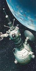 SPACE STATIONS Space stations provide the advantages of a gravity-free research environment.