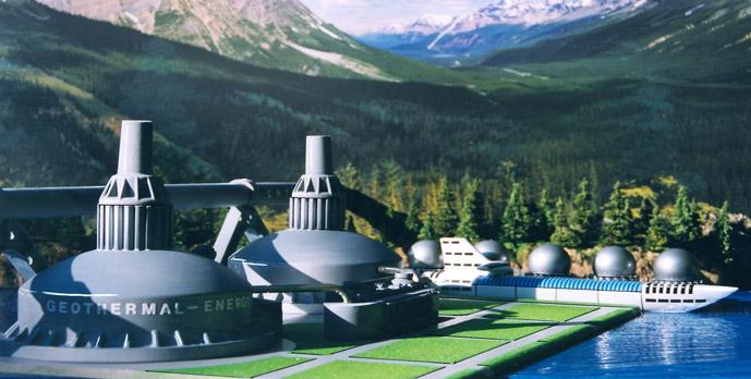 GEOTHERMAL ENERGY PLANTS In the future, as refinements in conversion technologies increase its feasibility, geothermal energy will take a more prominent role in reducing the threat of global warming.