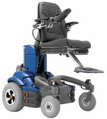 Figure 11: Power chair with elevating leg rests n Stand a
