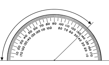Before students begin measuring angles with protractors, they need to have some experiences with benchmark angles.
