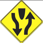 Some left turns may be permitted on red when moving from a one-way street onto another one-way street or from a two-way street onto a