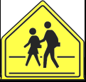 School Crossing School Pedestrians
