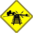 Some common railroad crossing warning
