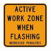 Temporary traffic signals may be used in work zones.