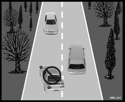 When going straight after stopping at an intersection, under normal circumstances, a vehicle can get through an intersection within 3 to 5 seconds.