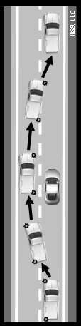 Under normal circumstances, a vehicle can complete a right turn and pick up speed within 12 to 15 seconds, while it may take 15 to 18 seconds to complete a left turn and get up to speed.